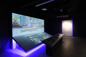 Land Transport Authority's SG Mobility Gallery multi-sensory exhibits